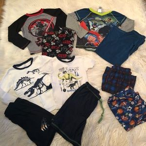 Boys pajama bundle